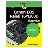 Wiley Canon EOS Rebel T6/1300D For Dummies