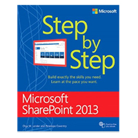 Microsoft Press SHAREPOINT 2013 STEP BY