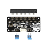 Adafruit Industries I2S 3W Stereo Speaker Bonnet for Raspberry Pi - Mini Kit