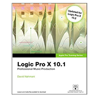 Pearson/Macmillan Books Logic Pro X 10.1: Apple Pro Training Series: Professional Music Production