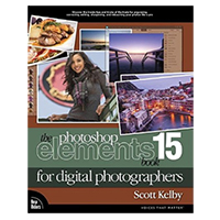 Pearson/Macmillan Books Photoshop Elements 15 Book for Digital Photographers