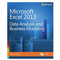 Microsoft Press Microsoft Excel 2013 Data Analysis and Business Modeling