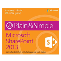 Microsoft Press Microsoft SharePoint 2013 Plain & Simple