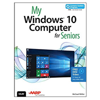 Pearson/Macmillan Books My Windows 10 Computers for Seniors