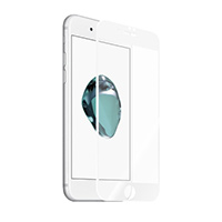 Kanex EdgeGlass Edge-to-Edge Glass Screen Protector for iPhone 7 - White