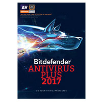 Bitdefender Antivirus Plus 2017 - 1 Device, 1 Year