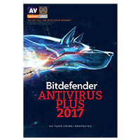 Bitdefender Antivirus Plus 2017 - 3 Devices, 1 Year