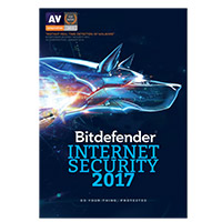 Bitdefender Internet Security 2017 - 1 Device, 1 Year (PC)