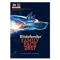 Bitdefender Family Pack 2017 Security - Unlimited Devices, 1 Year (PC/Mac)