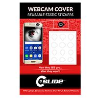 C-Slide Webcam Cover Static Sticker - White