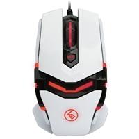 IOGear Kaliber Gaming FOKUS Pro Laser Gaming Mouse - White