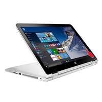 "HP Pavilion x360 Convertible 15-bk193ms Signature Edition 15.6"" 2-in-1 Laptop Computer - Natural Silver"