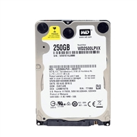"WD Blue 250GB 5,400 RPM SATA III 6.0Gb/s 2.5"" Notebook Hard Drive WD2500LPVX Bare Drive (Factory Recertified)"