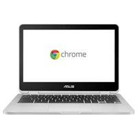 "ASUS C302CA-DHM4 12.5"" Chromebook Flip - Silver"