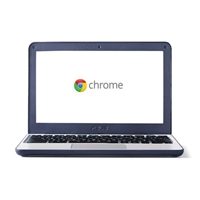 "ASUS C202SA-YS02 11.6"" Chromebook - Grey/Dark Blue"