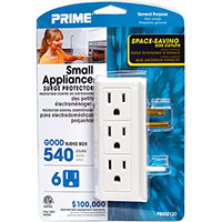 Prime Wire and Cable Small Appliance Surge Protector w/ 540 Joules