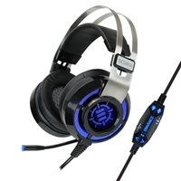Accessory Power Enhance Scoria Virtual 7.1 Vibration Gaming Headset - Black
