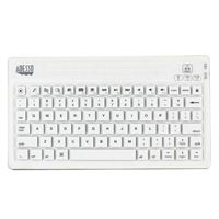 Adesso Bluetooth Waterproof Keyboard for Mac - White