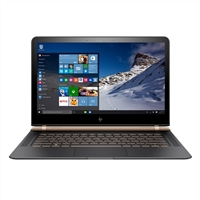 "HP Spectre 13-v11dx 13.3"" Laptop Computer Refurbished - Dark Ash Silver with Luxe Copper Accent"