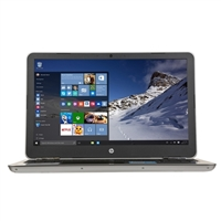 "HP Pavilion 15-au123cl 15.6"" Laptop Computer Refurbished - Natural silver and Ash Silver with Horizontal Brushing in Digital Thread Lines"
