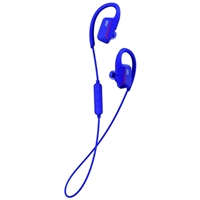 JVC Sports Bluetooth Wireless Ear Clip Fitness Earbuds - Blue