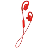 JVC Sports Bluetooth Wireless Ear Clip Fitness Earbuds - Red