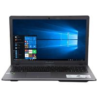 """ASUS X550VX-MS72 15.6"""" Laptop Computer - Matte Dark Gray with Spin Texture"""