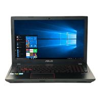 ASUSFX53VD-MS72 15.6 Gaming Laptop Computer - Black Metal