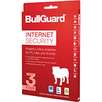 Bullguard Internet Security 2017 - 3 Devices, 1 Year (PC/Mac)