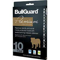 Bullguard Premium Protection 2017 - 10 Devices, 1 Year (PC/Mac)