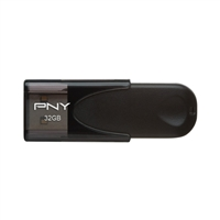 PNY 32GB USB 2.0 Flash Drive - Black