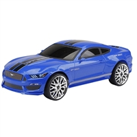 New Bright Industries Chargers Full-Function Mustang - Blue