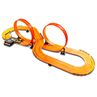 Mattel Hot Wheels 20' Slot Car Track Set