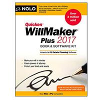 NOLO Quicken Willmaker Plus 2017 Edition: Book & Software Kit