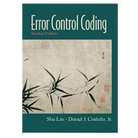 Prentice Hall ERROR CONTROL CODING 2/ E