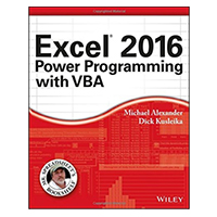 Wiley EXCEL 2016 POWER PROG VBA