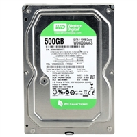 "WD Green 500GB 5,900RPM SATA III 3.5"" Desktop Hard Drive (Refurbished)"