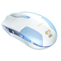 Inland Cobra Type S Portable Gaming Mouse - Blue