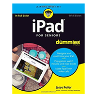 Wiley iPad for Seniors for Dummies, 9th Edition