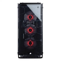 Corsair Crystal 570X RGB ATX Mid-Tower Computer Case - Red