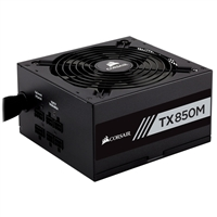 Corsair TX850M 850 Watts 80 Plus Gold Semi Modular ATX Power Supply