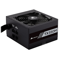 Corsair TX550M 550 Watts 80 Plus Gold Semi Modular ATX Power Supply