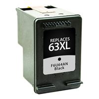 Dataproducts Remanufactured HP 63XL High Yield Black Ink Cartridge
