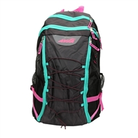 "Eastsport AVIA Sport Bungee Backpack Fits up to 18"" - Black/Pink/Teal"