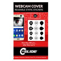 C-Slide Webcam Cover Static Sticker MIX for Phones