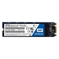 WD Blue 500GB m.2 2280 SATA III Internal Solid State Drive