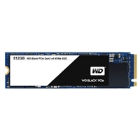 WD Black 512GB NVMe m.2 2280 PCIe Gen-3 Internal Solid State Drive