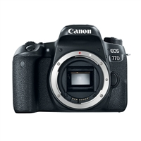 Canon EOS 77D DSLR 24.2 Megapixel Body Only Digital Camera - Black