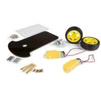Velleman 2 Wheel Drive Motor Chassis Robotics Kit