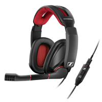Sennheiser GSP 350 Surround Sound Gaming Headset - Black/Red